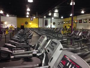 The gym can be a lonely place on a Sunday morning in winter.