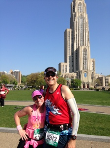 Outside the Cathedral of Learning