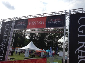 Tomorrow's finish line