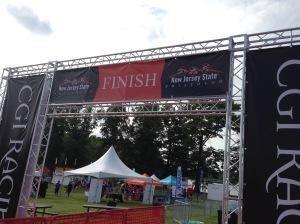 Tomorrow's finish line
