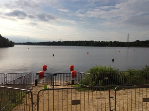 Swim entry view