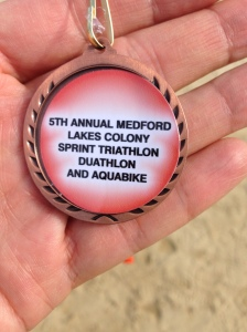 Not my most impressive medal but meant a lot to me