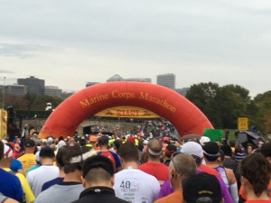 Finally, we saw the start line.