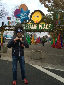 Shouldn't every marathon be followed up with a trip to a theme park?
