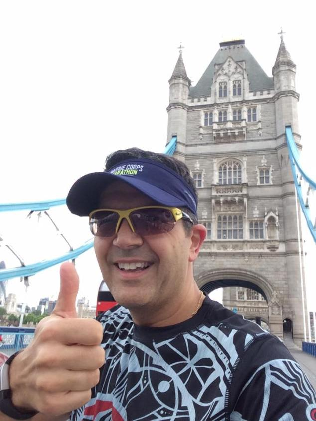 Finishing my time in London with a final run over Tower Bridge. Maybe one day I will be able to get back for the London Marathon.