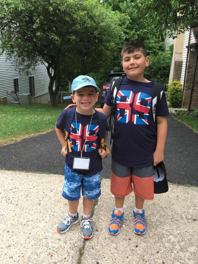 My boys were wearing UK and England shirts for a full week after I got back