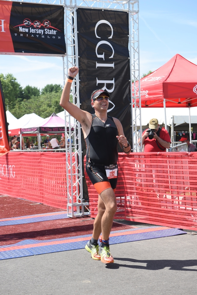 Completed my first Olympic distance triathlon