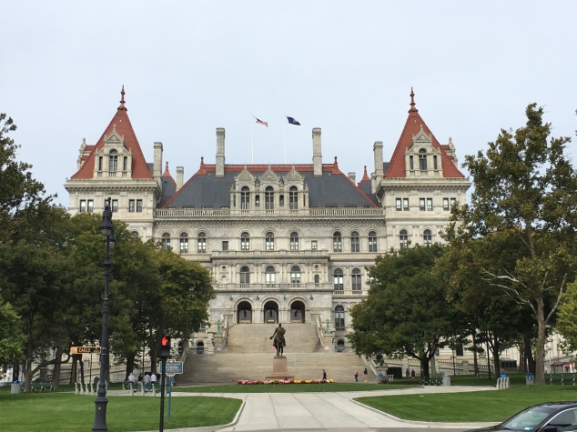 New York State Capital, Albany NY