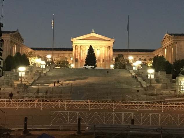 Philadelphia Museum of Art (and the Rocky stairs)